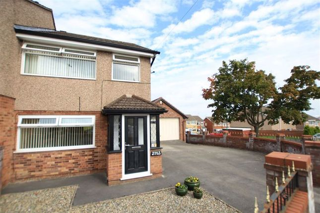 Thumbnail Semi-detached house for sale in Bryn Gwyn, Flint, Flintshire