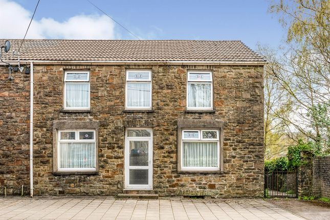 Thumbnail End terrace house for sale in Bridge Street, Maesteg