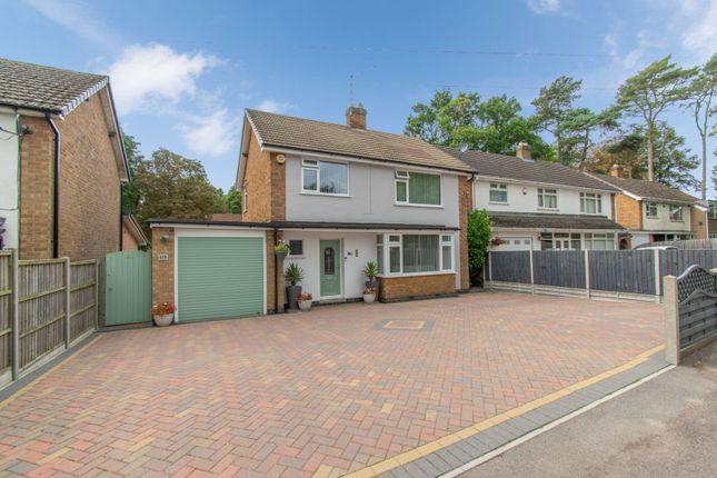 Thumbnail Detached house for sale in Saffron Road, Wigston