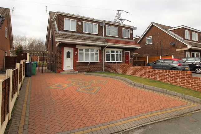 Thumbnail Semi-detached house for sale in The Fairway, Moston, Manchester