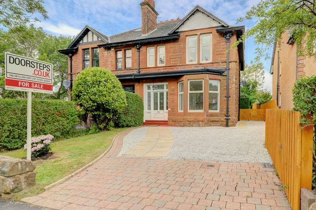 Thumbnail Semi-detached house for sale in Cubrieshaw Drive, West Kilbride