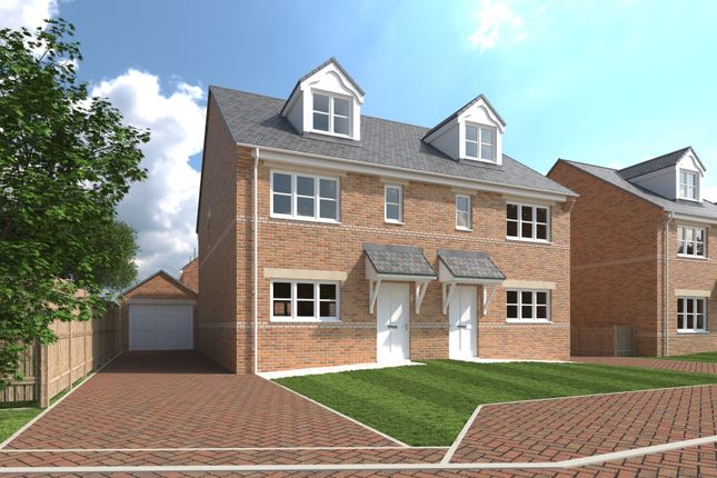 Thumbnail Semi-detached house for sale in The Wharfe, Water View, Castleford