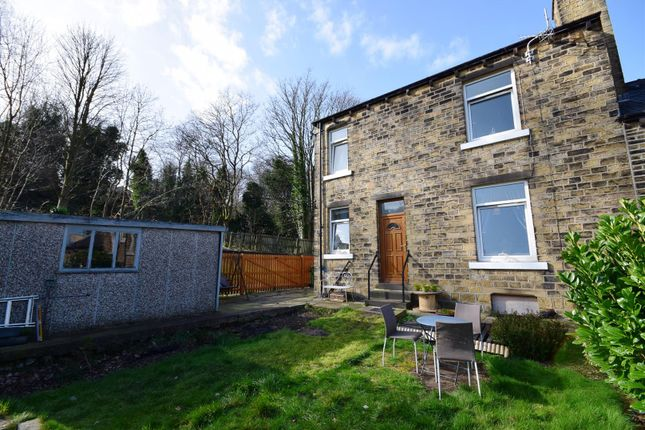 Thumbnail End terrace house for sale in Burbeary Road, Lockwood, Huddersfield