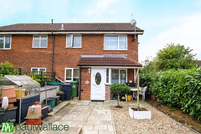 Thumbnail Semi-detached house for sale in Foxes Drive, Cheshunt, Waltham Cross