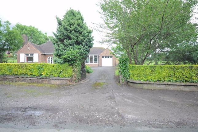Thumbnail Detached bungalow to rent in Church Lane, Oulton, Stone
