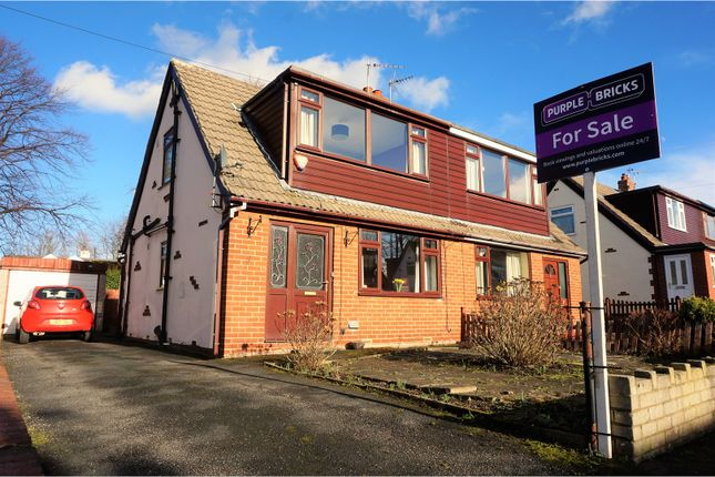 Thumbnail Semi-detached house for sale in Whinmore Gardens, Cleckheaton