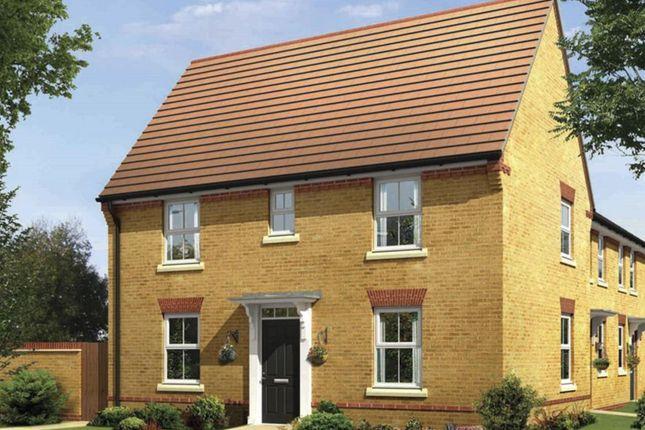 "Thumbnail Semi-detached house for sale in ""Hadley"" at Caledonia Road, Off Kiln Farm, Milton Keynes"