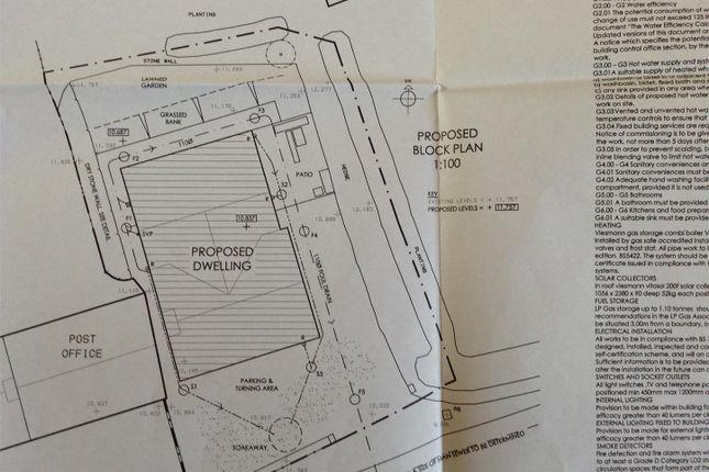 Site Plan of Maenclochog, Clynderwen SA66