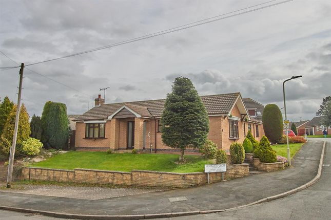 Thumbnail Detached bungalow for sale in Lychgate Close, Burbage, Hinckley