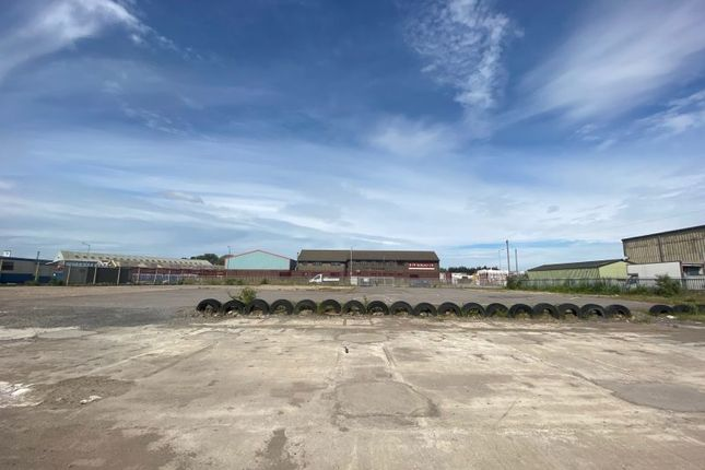 Thumbnail Land to let in Secure Yard, Clipper Road, Port Of Cardiff