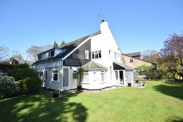Thumbnail Detached house for sale in Yockley Close, Camberley, Surrey