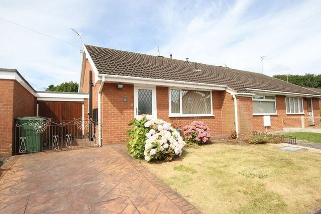 Thumbnail Semi-detached bungalow for sale in Aylsham Drive, Upton, Wirral
