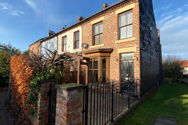 Thumbnail End terrace house for sale in Gill Street, Saltburn-By-The-Sea