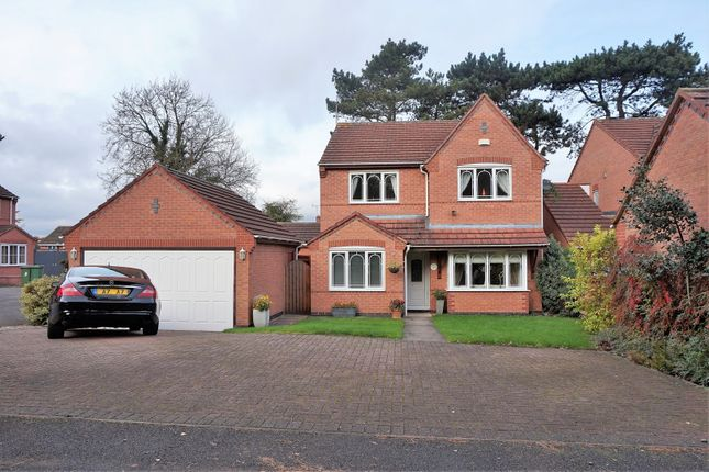 Thumbnail Detached house for sale in Pine View, Leicester Forest East
