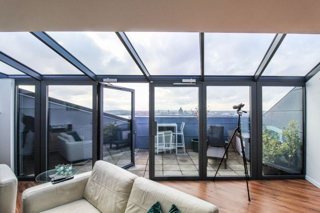 Thumbnail Flat for sale in 15 Mann Island, Liverpool