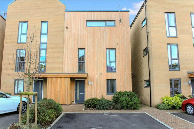 Thumbnail Semi-detached house for sale in Firepool View, Taunton, Somerset
