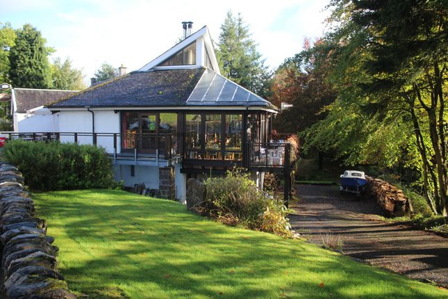 Thumbnail Restaurant/cafe for sale in The Capercaillie Restaurant & Rooms, Killin, Perthshire