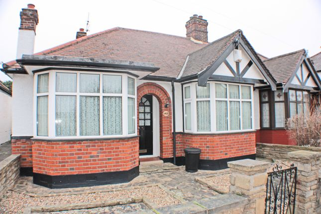 Thumbnail Bungalow for sale in Hamilton Avenue, Barkingside