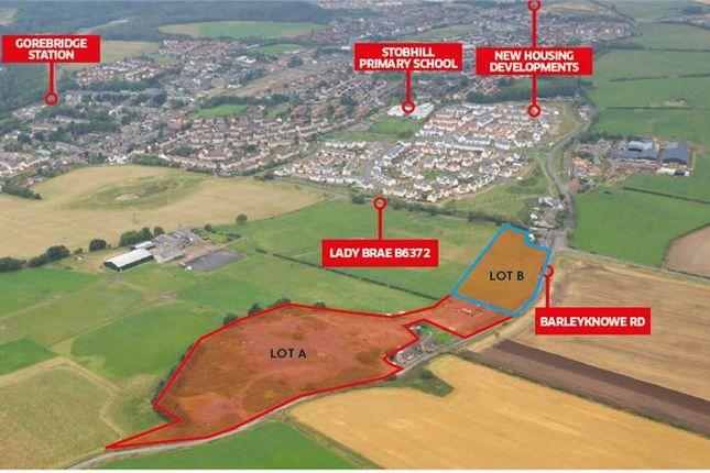 Thumbnail Land for sale in Milestone Brow, Barleyknowe Road, Gorebridge