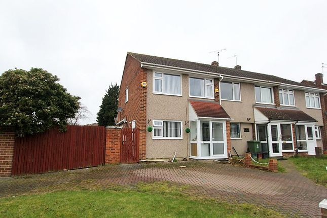 Thumbnail End terrace house for sale in Croft Close, Upper Belvedere, Kent