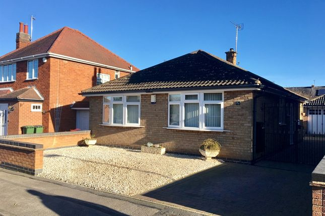 Thumbnail Detached bungalow for sale in West Street, Blaby, Leicester