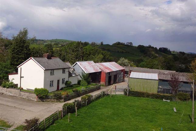 Thumbnail Farm for sale in Upper Ucheldre, Brooks, Welshpool, Powys