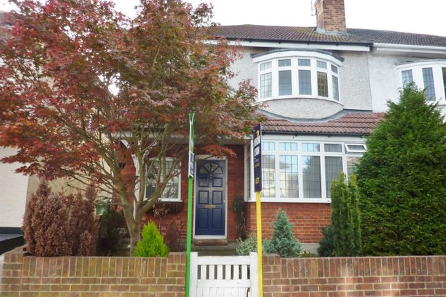 Thumbnail Semi-detached house to rent in The View, Upper Abbey Wood, London