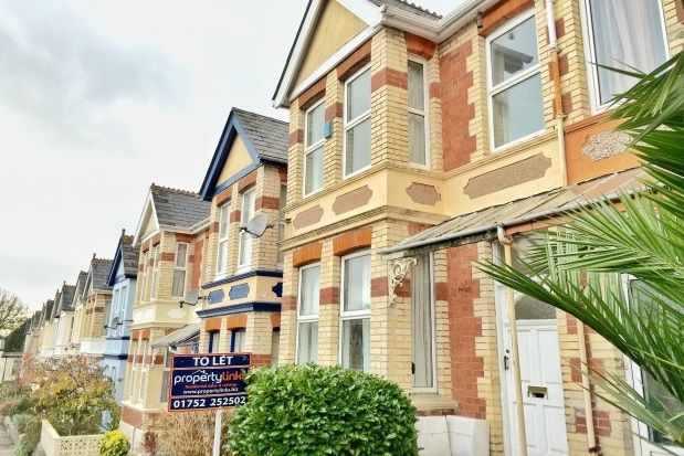 Thumbnail Flat to rent in Pounds Park Road, Plymouth