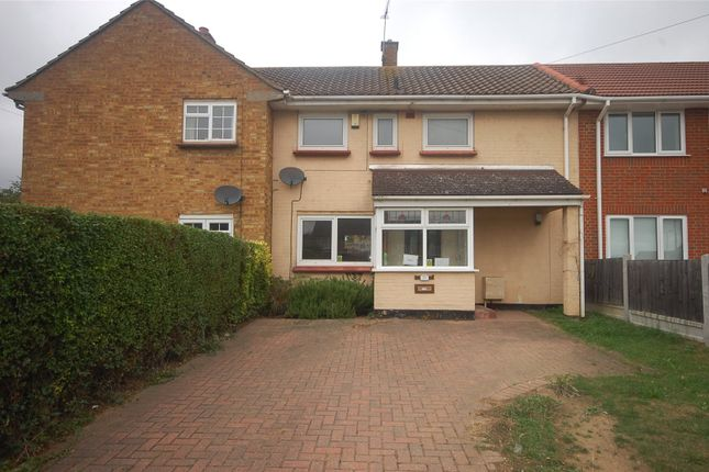 2 bed terraced house for sale in The Slades, Basildon, Essex