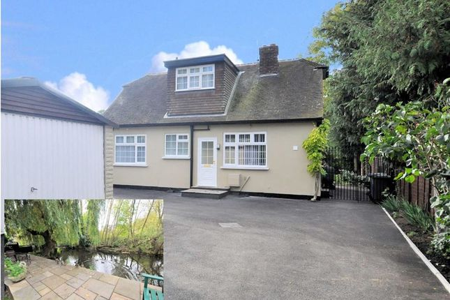 Thumbnail Detached bungalow for sale in Bell Weir Close, Wraysbury, Berkshire
