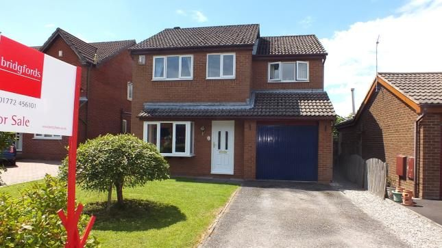 Thumbnail Detached house for sale in Chelmsford Walk, Leyland, Lancashire