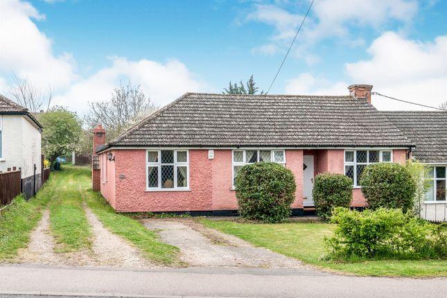 Thumbnail Semi-detached bungalow for sale in Barton Hill, Fornham St. Martin, Bury St. Edmunds