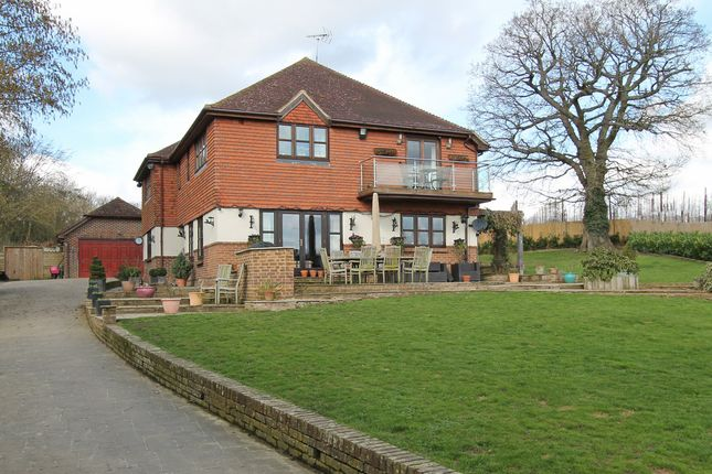Thumbnail Detached house for sale in Horsmonden Road, Brenchley, Tonbridge