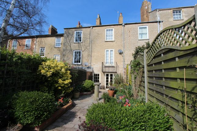 Thumbnail Town house for sale in St. Leonards Street, Stamford