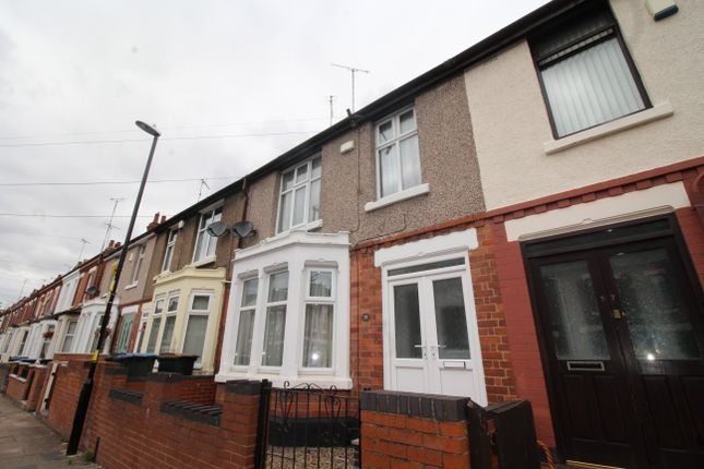 Thumbnail Terraced house for sale in Beaconsfield Road, Coventry