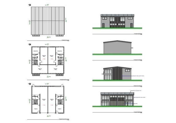 Plans of Trethowel, St Austell, Cornwall PL25