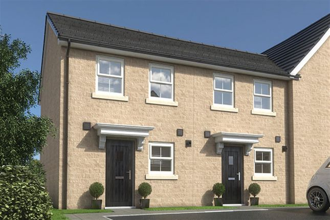 Thumbnail Town house for sale in The Elmcroft, South Lane, Elland, Halifax