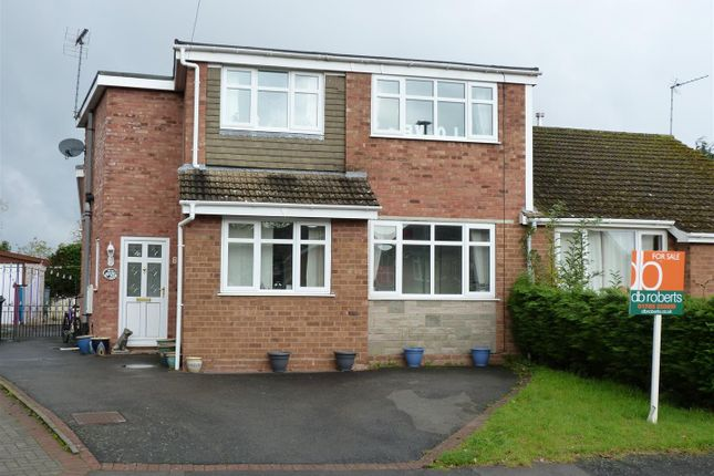 Thumbnail Semi-detached house for sale in Pinfold Close, Wheaton Aston, Stafford