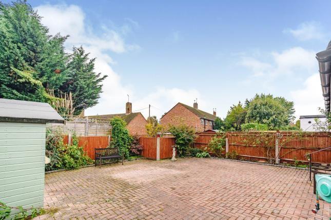 Garden of Whitehall Crescent, Chessington, Surrey, . KT9