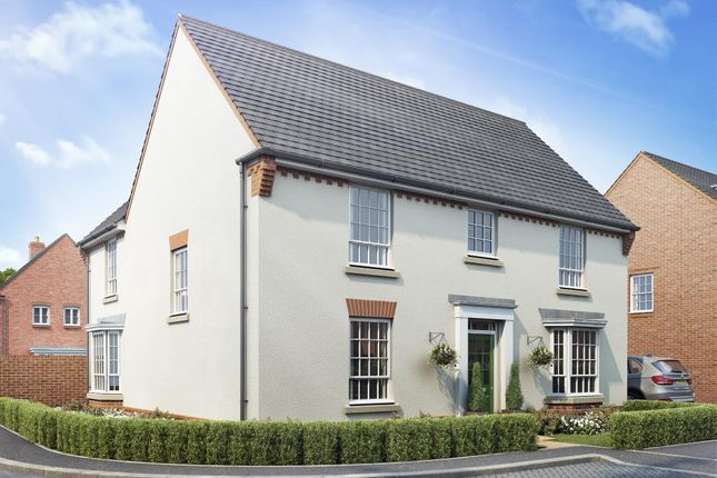 "Thumbnail Detached house for sale in ""Carsington"" at Warkton Lane, Barton Seagrave, Kettering"