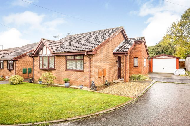 Thumbnail Detached bungalow for sale in Hunters Rise, Winsford