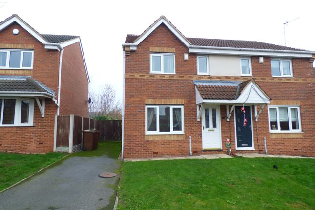 Thumbnail Semi-detached house to rent in Kingsley Drive, Castleford