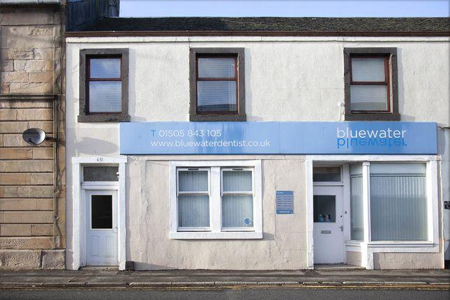 Exterior of High Street, Lochwinnoch, Renfrewshire PA12