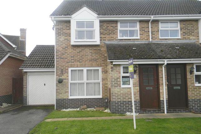 Thumbnail Semi-detached house for sale in Enterprise Close, Warsash, Southampton