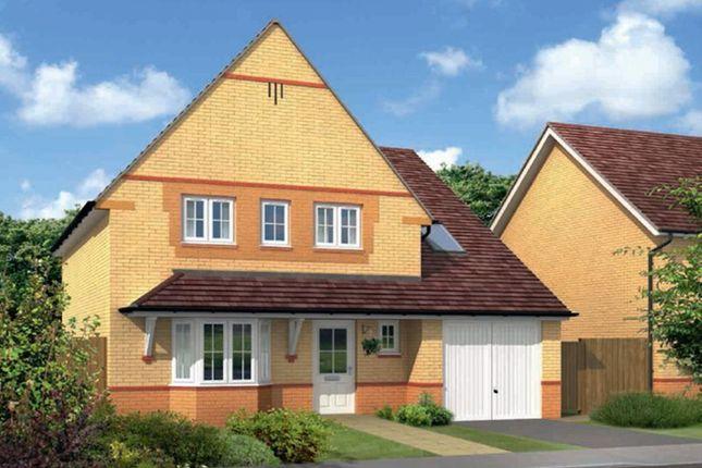 "Thumbnail Detached house for sale in ""Harborough"" at Monkton Lane, Hebburn"