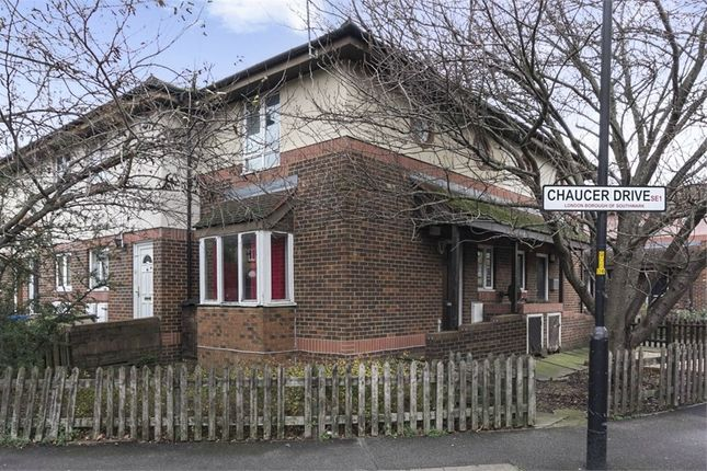 Thumbnail End terrace house for sale in Chaucer Drive, London