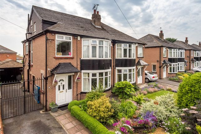 Thumbnail Semi-detached house for sale in Shadwell Walk, Leeds, West Yorkshire