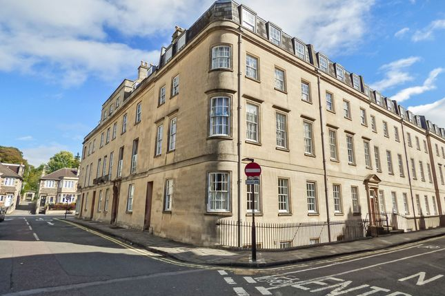 Front of Nile Street, Bath City Centre BA1