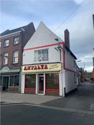 Thumbnail Restaurant/cafe to let in Prominent Restaurant Premises, 23 Abbey Foregate, Shrewsbury, Shrewsbury, Shropshire