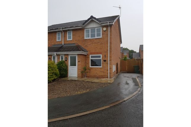 Thumbnail Semi-detached house to rent in Broughton Heights, Wrexham